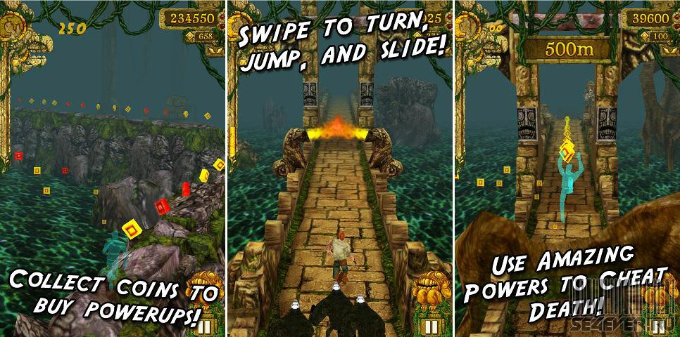 temple run download for symbian phones